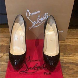 Christian louboutin Bianca black pumps size 37.5